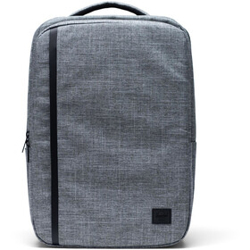 Herschel Travel Sac à dos 30l, raven crosshatch
